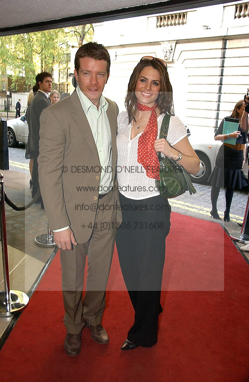 Actor MAX BEESLEY and actress SUSIE AMY at a private screening of 'Sketches of Frank Gehry in association with jewellers Tiffany held at the Curzon Cinema, Mayfair on 10th May 2006 followed by a party at Nobu Mayfair, Berkeley Street.<br /><br />NON EXCLUSIVE - WORLD RIGHTS