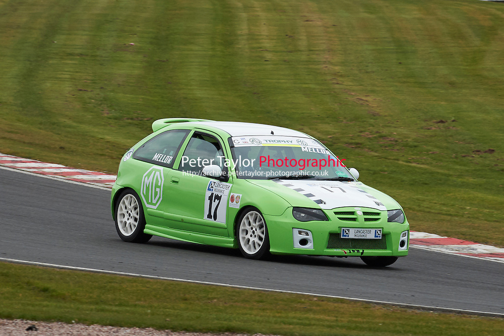 #17 David MELLOR MG ZR 1800 during Lancaster Insurance MG Owners Club Championship as part of the BARC NW - Championship Raceday  at Oulton Park, Little Budworth, Cheshire, United Kingdom. March 19 2016. World Copyright Peter Taylor/PSP. Copy of publication required for printed pictures.  Every used picture is fee-liable. http://archive.petertaylor-photographic.co.uk