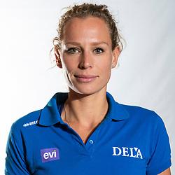 02-07-2018 NED: EC Beach teams Netherlands, The Hague<br /> Sanne Keizer NED