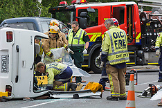 Christchurch-Driver cut from car in Opawa suburb
