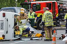 Christchurch-Driver cut from car in Opawa suburb