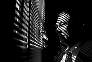Augusta Detective Gene Stalcup peers out a window for a portrait in his office Gene Stalcup and Associates July 16, 2008. KENDRICK BRINSON/STAFF