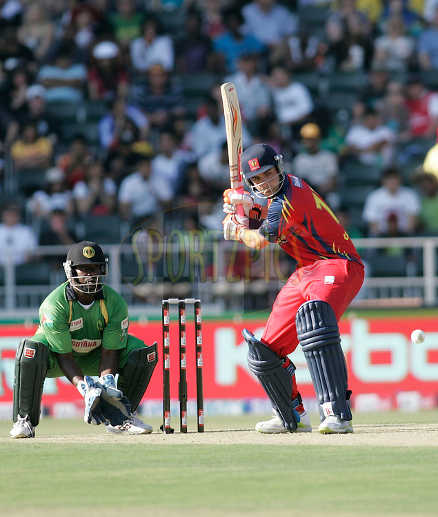 Lions player Richard Cameron during match 14 of the Airtel CLT20 held between the Lions and Guyana at The Wanderers Stadium in Johannesburg on the 19 September 2010..Photo by: Abbey Sebetha/SPORTZPICS/CLT20