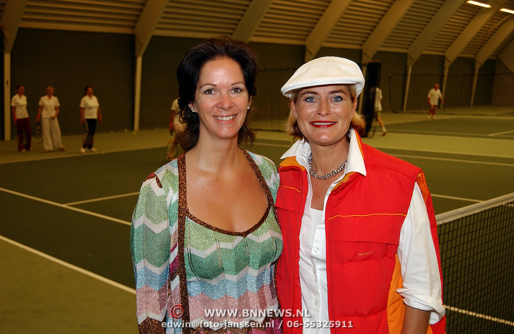 Tennisclinic Hilversum Open 2004, en Vivianne Boelen