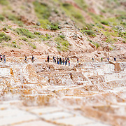 Tilt Shift Salinas de Maras Peru