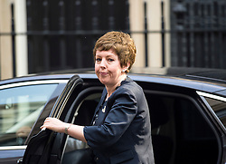 © Licensed to London News Pictures. 07/09/2015. Westminster, UK. BARONESS STOWELL arriving at 10 Downing Street on September 7, 2015..  Photo credit: Ben Cawthra/LNP