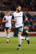 Barnsley's Adam Jackson (18) during the EFL Sky Bet Championship match between Nottingham Forest and Barnsley at the City Ground, Nottingham, England on 24 April 2018. Picture by Jon Hobley.