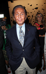 Valentino  at the Diane Von Furstenberg show  at  New York Fashion Week  Sunday, 9th September 2012. Photo by: Stephen Lock / i-Images