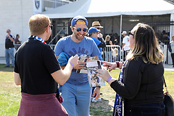 October 21, 2018 - San Jose, California, United States - San Jose, CA - Sunday October 21, 2018: Fans prior to a Major League Soccer (MLS) match between the San Jose Earthquakes and the Colorado Rapids at Avaya Stadium. (Credit Image: © Maciek Gudrymowicz/ISIPhotos via ZUMA Wire)