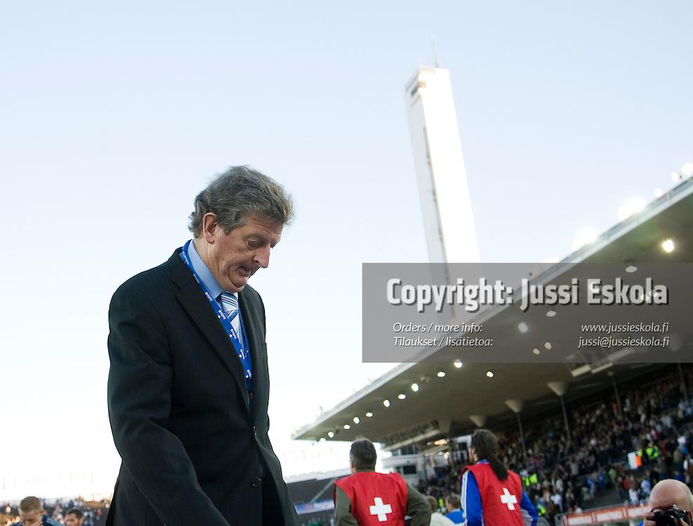 Roy Hodgson. Suomi-Serbia, EM-karsinta, Olympiastadion. Helsinki 2.6.2007. Photo: Jussi Eskola