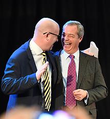 London: Announcement of The New UKIP Leader, 28 Nov. 2016
