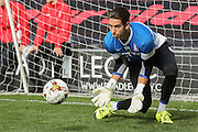 Bradford City goalkeeper Brad Jones during the Sky Bet League 1 match between Bradford City and Sheffield Utd at the Coral Windows Stadium, Bradford, England on 20 September 2015. Photo by Simon Davies.
