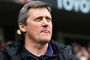 Bolton caretaker manager Jimmy Phillips during the Sky Bet Championship match between Derby County and Bolton Wanderers at the iPro Stadium, Derby, England on 9 April 2016. Photo by Aaron  Lupton.