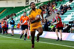 Zach Kibirige of Wasps - Mandatory by-line: Robbie Stephenson/JMP - 13/09/2019 - RUGBY - Franklin's Gardens - Northampton, England - Bath Rugby 7s v Wasps 7s - Premiership Rugby 7s