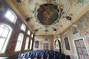 Rokoko Festsaal, Thüringer Museum im Stadtschloss, Eisenach, Thüringen, Deutschland |  city palace, Eisenach, Thuringia, Germany
