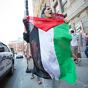 Boston Pro Palestinian Protest - 7/11/2014