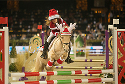 Pony Knock Out<br /> Vlaanderens Kerstjumping<br /> Memorial Eric Wauters<br /> Jumping Mechelen 2017<br /> © Hippo Foto - Dirk Caremans<br /> 26/12/2017