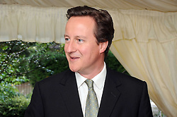 DAVID CAMERON MP  at the Spectator Summer Party held at 22 Old Queen Street, London SW1 on 3rd July 2008.<br /><br />NON EXCLUSIVE - WORLD RIGHTS