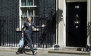 British Home Secretary Theresa May leaves No10 Downing Street after attending the last Cabinet Meeting hosted by British Prime Minister David Cameron in Central London, Britain, 12 July 2016. British Prime Minister David Cameron will resign on 13 July 2016 with Theresa May due to take over as Prime Minister later that day. EPA / WILL OLIVER