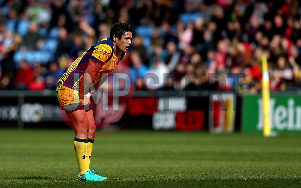Jackson Willison of Worcester Warriors - Mandatory by-line: Robbie Stephenson/JMP - 26/03/2017 - RUGBY - Ricoh Arena - Coventry, England - Wasps v Worcester Warriors  - Aviva Premiership