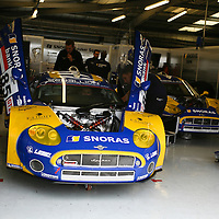 Spyker, LMS GT2, Silverstone LMS 1000km September 2008