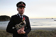 Tauranga-ANZAC Day dawn parade, Mt Maunganui
