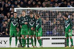 24.11.2010, White Hart Lane, London, ENG, UEFA CL Gruppe A Tottenham Hotspur  ( GBR ) vs Werder Bremen (GER) , im Bild Sandro Wagner ( Werder #19 ) Per Mertesacker ( Werder #29 ) Sebastian Prödl / Proedl ( Werder #15)6 Clemens Fritz ( Werder #08) Onur Ayik ( Werder #46 )  EXPA Pictures © 2010, PhotoCredit: EXPA/ nph/  Gunn****** out ouf GER ******