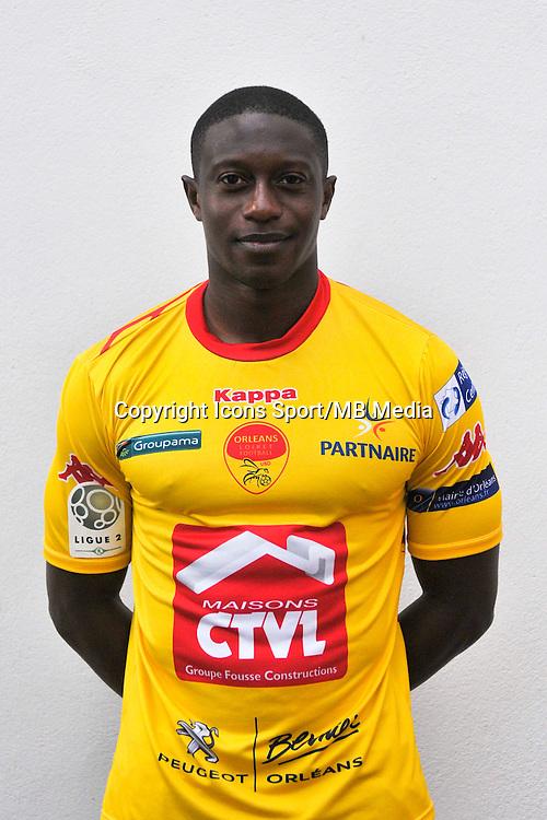 Ousmane Sidibe - 04.09.2014 - Photo officielle Orleans - Ligue 2 2014/2015<br /> Photo : Philippe Le Brech / Icon Sport