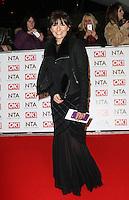 Davina McCall, National Television Awards, The O2, London UK, 21 January 2015, Photo by Richard Goldschmidt