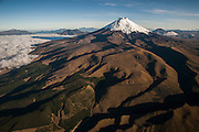 Cotopaxi Volcano <br /> 5,897meters high<br /> Highest active volcano in the world<br /> Avenue of the Volcanoes<br /> Andes<br /> ECUADOR, South America