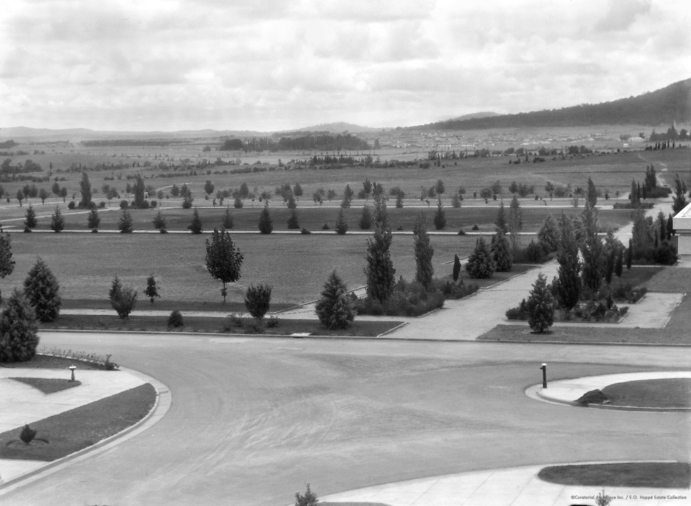 New Road, South Grounds, Canberra, Australia, 1930