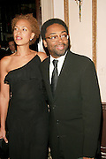Honoree Spike Lee with wife Tonya Lewis Lee at the 3rd Annual Directors Guild Of America Honors at the Waldorf-Astoria in New York City. June 9, 2002. <br />Photo: Evan Agostini/ImageDirect