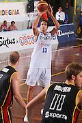 DESCRIZIONE : Cagliari Torneo Internazionale Sardegna a canestro Belgio Italia <br /> GIOCATORE : Luigi Datome <br /> SQUADRA : Nazionale Italia Uomini <br /> EVENTO : Raduno Collegiale Nazionale Maschile <br /> GARA : Belgio Italia Belgium Italy <br /> DATA : 14/08/2008 <br /> CATEGORIA : Tiro <br /> SPORT : Pallacanestro <br /> AUTORE : Agenzia Ciamillo-Castoria/S.Silvestri <br /> Galleria : Fip Nazionali 2008 <br /> Fotonotizia : Cagliari Torneo Internazionale Sardegna a canestro Belgio Italia <br /> Predefinita :