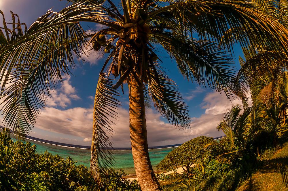 Hotel Nengone Village, island of Mare, Loyalty Islands, New Caledonia