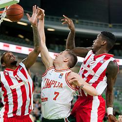 20160111: SLO, Basketball - ABA League 2015/17, KK Union Olimpija vs Crvena Zvezda
