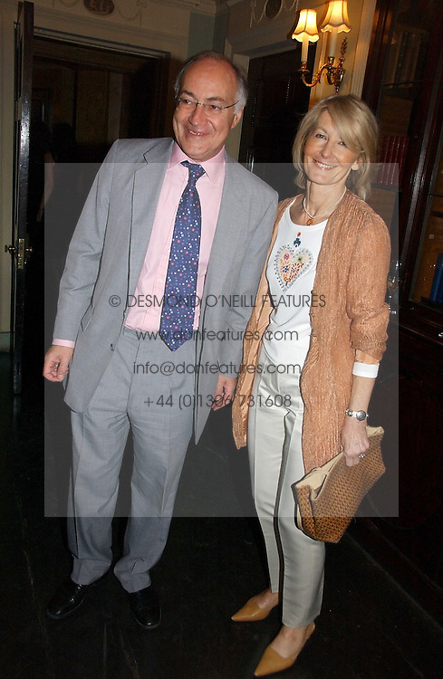 MICHAEL & SANDRA HOWARD at the Tatler Summer Party 2006 in association with Fendi held at Home House, Portman Square, London W1 on 29th June 2006.<br /><br />NON EXCLUSIVE - WORLD RIGHTS