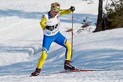 KONONOVA Oleksandra, UKR, Long Distance Cross Country, 2015 IPC Nordic and Biathlon World Cup Finals, Surnadal, Norway
