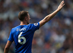 Jonny Evans of Leicester City - Mandatory by-line: Jack Phillips/JMP - 18/08/2018 - FOOTBALL - King Power Stadium - Leicester, England - Leicester City v Wolverhampton Wanderers - English Premier League