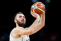 Milan Macvan of Serbia during basketball match between National Teams of Serbia and Hungary at Day 11 in Round of 16 of the FIBA EuroBasket 2017 at Sinan Erdem Dome in Istanbul, Turkey on September 10, 2017. Photo by Vid Ponikvar / Sportida
