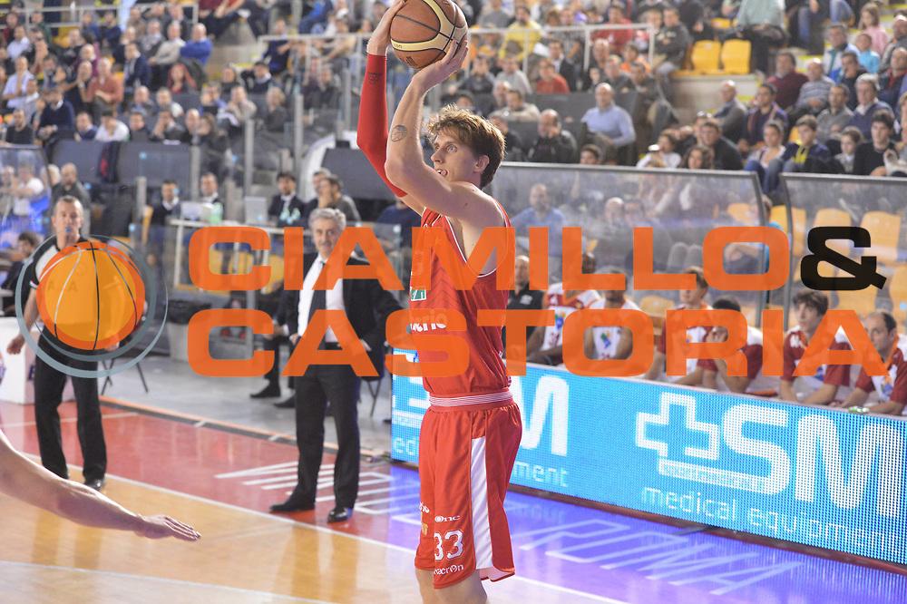 DESCRIZIONE : Roma Lega A 2012-13 Acea Virtus Roma Cimberio Varese<br /> GIOCATORE : Achille Polonara<br /> CATEGORIA : three points<br /> SQUADRA : Cimberio Varese<br /> EVENTO : Campionato Lega A 2012-2013 <br /> GARA : Acea Virtus Roma Cimberio Varese<br /> DATA : 02/12/2012<br /> SPORT : Pallacanestro <br /> AUTORE : Agenzia Ciamillo-Castoria/GiulioCiamillo<br /> Galleria : Lega Basket A 2012-2013  <br /> Fotonotizia : Roma Lega A 2012-13 Acea Virtus Roma Cimberio Varese<br /> Predefinita :