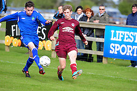 Brian Gafney Galway   and Clive Crammond Wicklow  in Drom  in the  Youths Cup final . Phorto : Andrew Downes