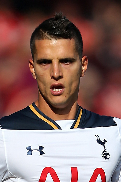 Erik Lamela of Tottenham Hotspur