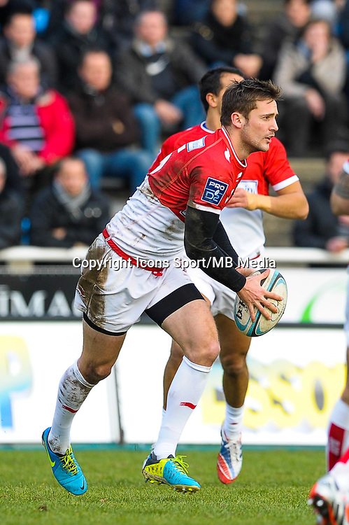 Paul Couet Lannes - 25.01.2015 - Massy / Biarritz - 18eme journee de Pro D2<br /> Photo : Andre Ferreira / Icon Sport