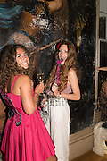 ABBIE BUCH; BLANCHE HOWARD, Bella Howard 30th birthday, Castle Howard, Dress code: Flower Fairies and Prince Charming, 3 September 2016