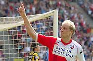 UTRECHT - FC Utrecht - Vitesse, Eredivisie, seizoen 2010-2011, 24-04-2011, Galgenwaard, FC Utrecht speler Frank Demouge heeft de 4-1 gescoord.