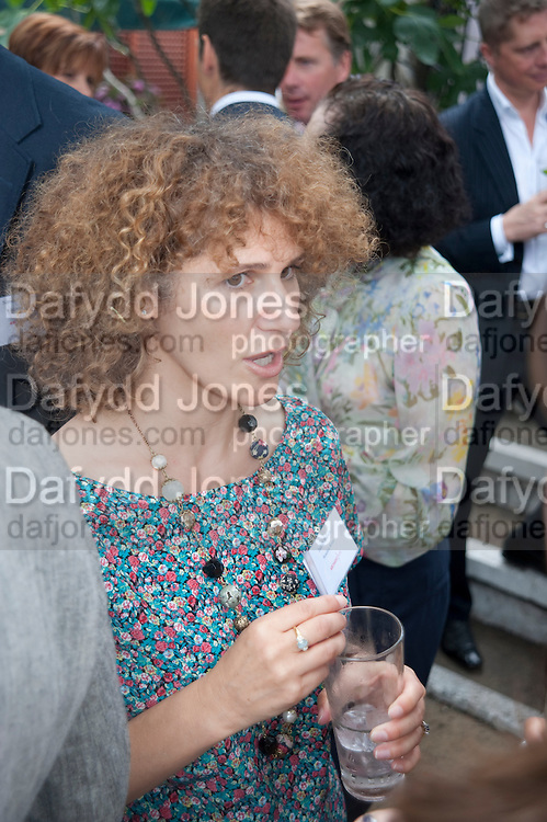 JUDITH WILSON, Archant Summer party. Kensington Roof Gardens. London. 7 July 2010. -DO NOT ARCHIVE-© Copyright Photograph by Dafydd Jones. 248 Clapham Rd. London SW9 0PZ. Tel 0207 820 0771. www.dafjones.com.