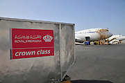 Israel, Ben-Gurion international Airport, Royal Jordanian Cargo Container