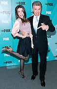 'America's Most Wanted' host John Walsh and daughter Meghan Walsh pose at the Fox 2009 Programming Presentation Post-Party Arrivals at Wollman Rink in New York City, USA on May 18, 2009.