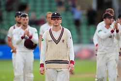 Chris Rogers of Somerset walks off after last game of cricket.  - Mandatory by-line: Alex Davidson/JMP - 22/09/2016 - CRICKET - Cooper Associates County Ground - Taunton, United Kingdom - Somerset v Nottinghamshire - Specsavers County Championship Division One