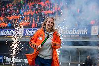 Den Bosch - Rabo fandag 2019 . hockey clinics met de spelers van het Nederlandse team. opkomst van international Lauren Stam  (Ned) .   COPYRIGHT KOEN SUYK